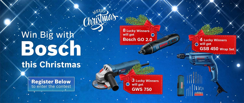 Win A Bosch Power Tool
