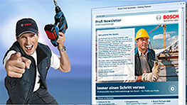 Bosch Professional Newsletter
